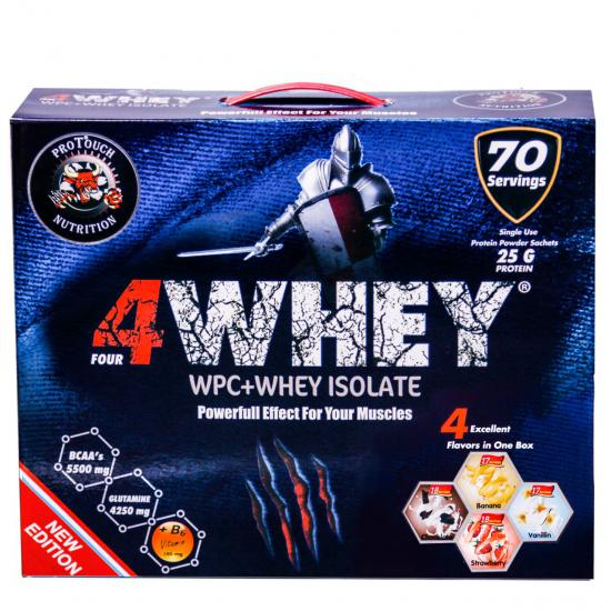 Protouch 4Whey 2450 Gr 70 Servis Sachet | MaçoLifeStyle