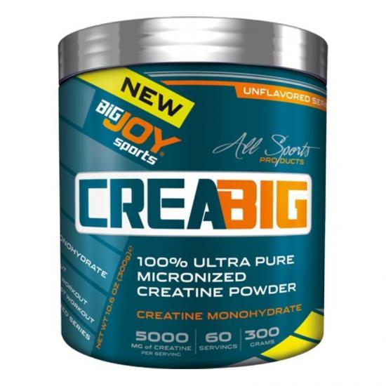 Big Joy Crea Big Micronized Creatine Powder 300 Gr | MaçoLifeStyle