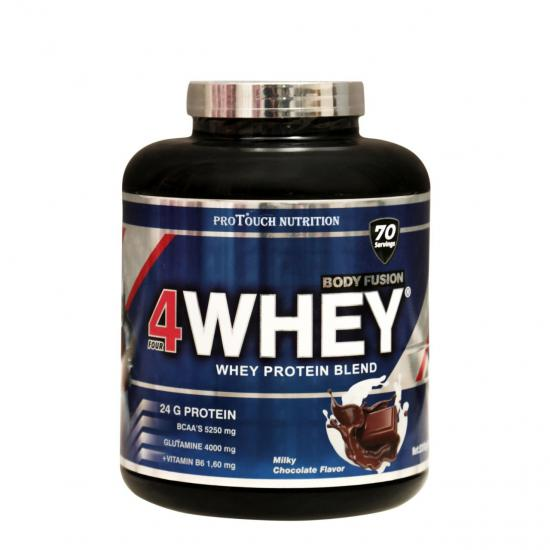 Protouch Body Fusion 4Whey 2310 Gr | MaçoLifeStyle