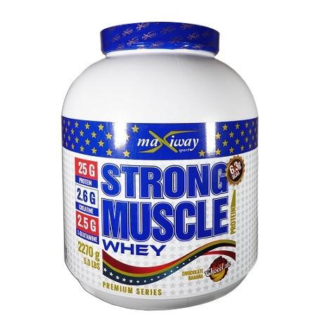 MaxiWay Strong Muscle Whey 2270 Gr | MaçoLifeStyle