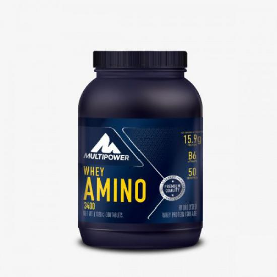 Multipower Whey Amino 3400 300 Tablet | MaçoLifeStyle