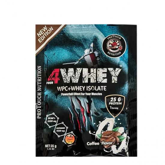 Protouch 4Whey İsolate 32 Gr 20 Şase Protein Tozu -Coffee - Birthday Cake | MaçoLifeStyle