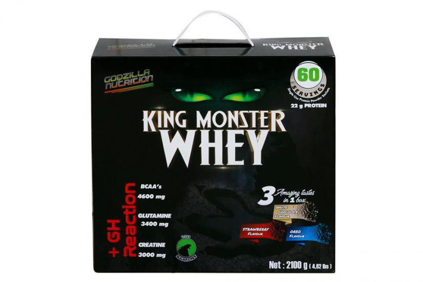 Godzilla Nutrition King Monster Whey 2100 Gr | MaöoLifeStyle