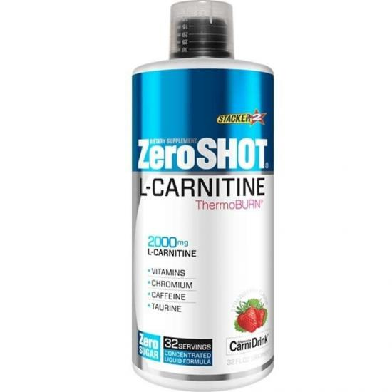 Zero Shot L-Carnitine 2000 Mg Thermo Burn 960 Ml L-Karnitin | MaçoLifeStyle